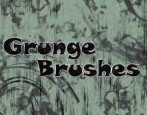 Splatter Brush and Grunge Brush Pack Photoshop brush