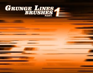Grunge Lines Part 1 Photoshop brush