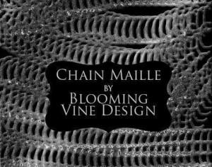 Blooming Vine's Chain Maille Brush and Layer Style Photoshop brush