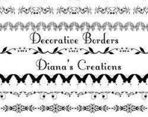 Decorative Borders Photoshop brush