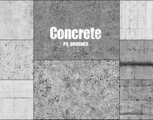20 Concrete PS Brushes abr vol 9 Photoshop brush