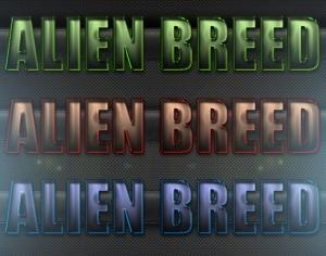 Alien Breed Text Styles Photoshop brush