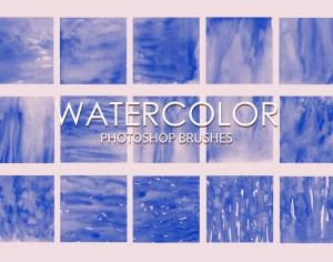 Free Watercolor Photoshop Brushes 2 Photoshop brush