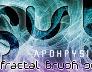 Apophysis Fractal Brush Set Photoshop brush