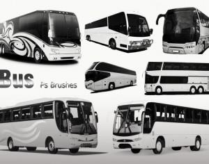 20 Bus Ps Brushes abr. vol.3 Photoshop brush