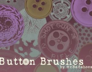 Button Brushes Photoshop brush