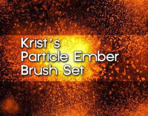 Krist's Particle Ember Brushes  Photoshop brush