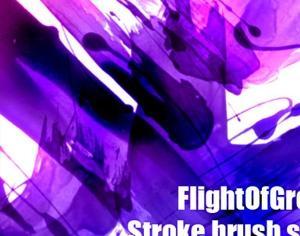 Stroke Brush Set Photoshop brush