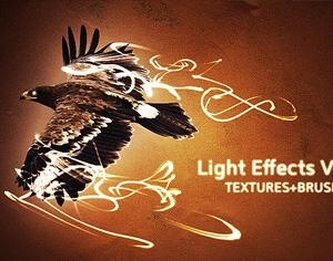 Light Effects Vol 1 Photoshop brush