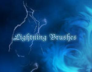 Thunder Photoshop brush