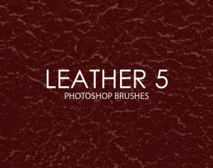 Free Leather Photoshop Brushes 5 Photoshop brush