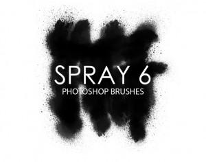 Free Spray Photoshop Brushes 6 Photoshop brush