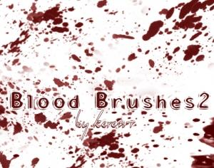 Blood Brushes 2 Photoshop brush