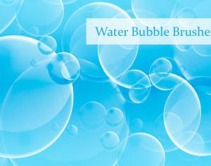 Water Bubble Brushes Photoshop brush