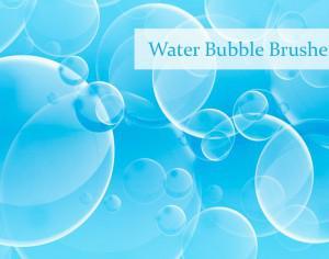Water Bubble Brushes Photoshop brush