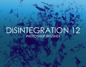 Free Disintegration Photoshop Brushes 12 Photoshop brush