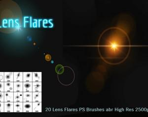 Lens Flares PS Brushes Photoshop brush
