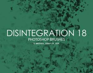 Free Disintegration Photoshop Brushes 18 Photoshop brush
