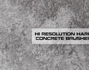 Hi Res Concrete Texture Brushes Photoshop brush