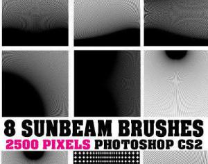 Sunbeam Photoshop Brushes Photoshop brush