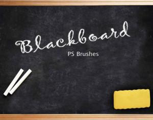 20 Blackboard Ps Brushes abr. vol.4 Photoshop brush