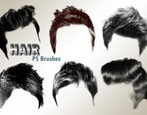 20 Hair Male PS Brushes abr. vol.2 Photoshop brush