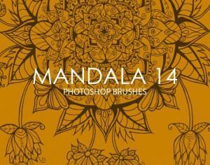 Free Mandala Photoshop Brushes 14 Photoshop brush