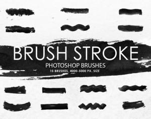 Free Brush Stroke Photoshop Brushes Photoshop brush