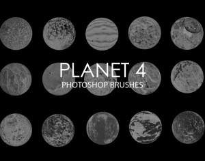 Free Abstract Planet Photoshop Brushes 4 Photoshop brush