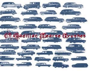 42 Cadillac Hearse Brushes Photoshop brush