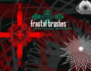 Fractals II by hawksmont Photoshop brush