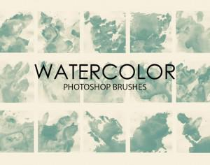 Free Watercolor Wash Photoshop Brushes 5 Photoshop brush