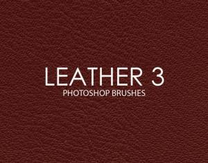 Free Leather Photoshop Brushes 3 Photoshop brush