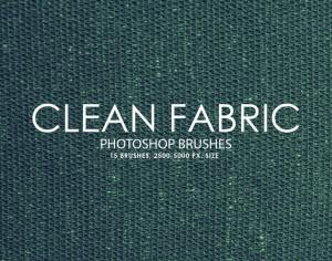 Free Clean Fabric Photoshop Brushes 2 Photoshop brush