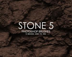 Free Stone Photoshop Brushes 5 Photoshop brush