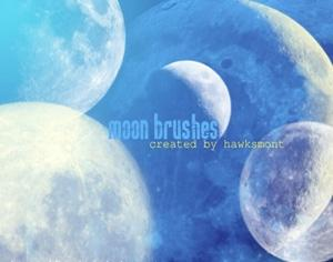 Moon Brushes Photoshop brush