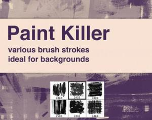 Paint Killer Photoshop brush