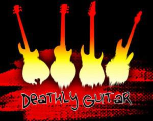 Deathly Guitar Brushes Photoshop brush