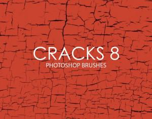 Free Cracks Photoshop Brushes 8 Photoshop brush