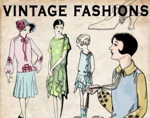 Vintage Fashions Photoshop brush
