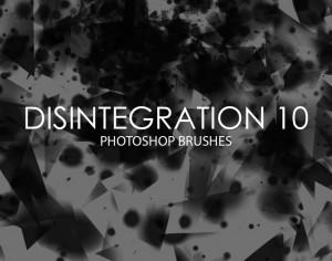 Free Disintegration Photoshop Brushes 10 Photoshop brush