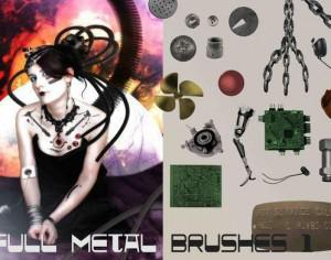 Full Metal Brush Pack Assemble 1 Photoshop brush