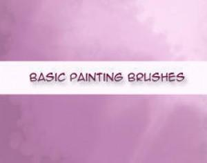 Basic Painting Brushes Photoshop brush