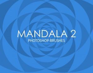 Free Mandala Photoshop Brushes 2 Photoshop brush