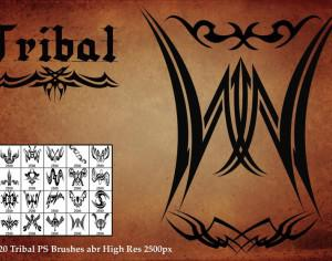 Tribal PS Brushes Photoshop brush