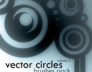Vector Circles Set2 Photoshop brush