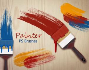 20 Painter PS Brushes abr.  Photoshop brush