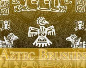 Aztec Brushes Photoshop brush