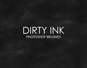 Free Dirty Ink Photoshop Brushes Photoshop brush