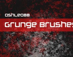5 Grunge Brushes Photoshop brush
